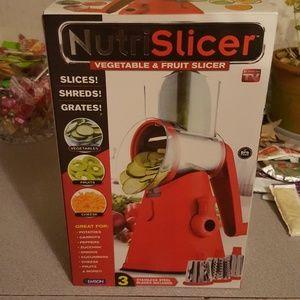 Other - NutriSlicer Vegetable and Fruit Slicer